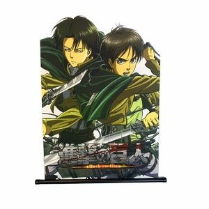 Attack on titan wall hanging Levi and Eren